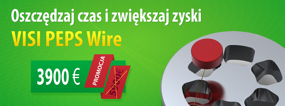 Promocja VISI PEPS Wire